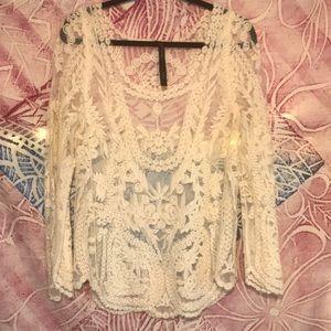 Reneec. Lace shirt